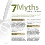 Myths About Calcium